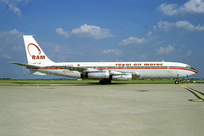 Royal Air Maroc-RAM Boeing 707-328 CN-RMD (msn 17619) ORY (Jacques Guillem). Image: 950421.