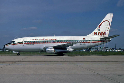 Royal Air Maroc-RAM Boeing 737-2B6 CN-RML (msn 22767) LHR (SPA). Image: 929831.