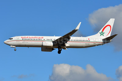 Royal Air Maroc Boeing 737-86N WL CN-RGG (msn 36829) TLS (Paul Bannwarth). Image: 936921.