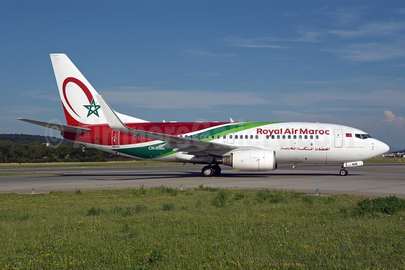 Royal Air Maroc Boeing 737-7B6 WL CN-RNR (msn 28986) ZRH (Rolf Wallner). Image: 947266.