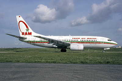 Royal Air Maroc-RAM Boeing 737-7B6 CN-RNL (msn 28982) ORY (Jacques Guillem). Image: 946640.