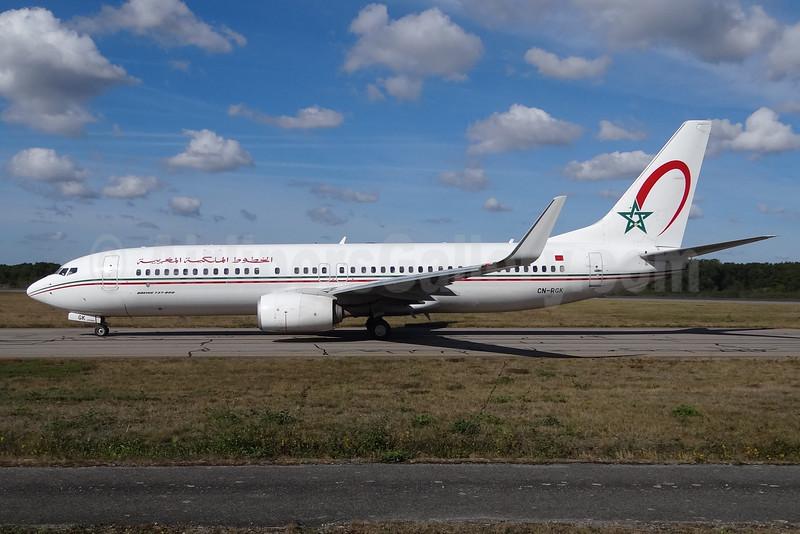 Royal Air Maroc Boeing 737-8B6 WL CN-RGK (msn 33073) NTE (Paul Bannwarth). Image: 929220.