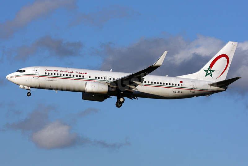 Royal Air Maroc Boeing 737-8B6 WL CN-RGJ (msn 33072) LHR (SPA). Image: 934836.