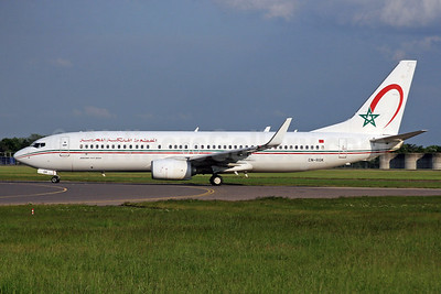 Royal Air Maroc Boeing 737-8B6 WL CN-RGK (msn 33073) LHR. Image: 937529.