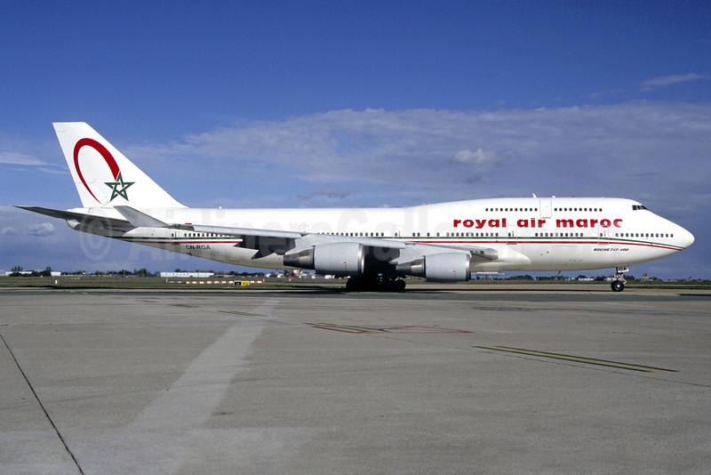 Royal Air Maroc-RAM Boeing 747-428 CN-RGA (msn 25629) ORY (Pepscl). Image: 912429.
