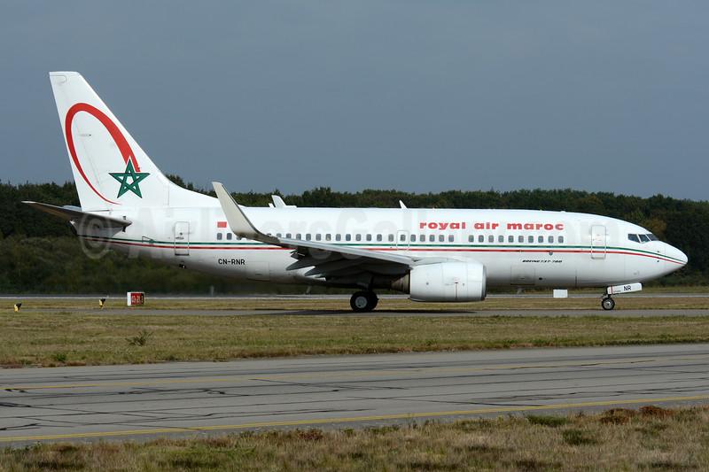 Royal Air Maroc Boeing 737-7B6 WL CN-RNR (msn 28986) NTE (Paul Bannwarth). Image: 938281.
