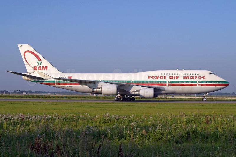 Royal Air Maroc-RAM Boeing 747-428 CN-RGA (msn 25629) AMS (Arnd Wolf). Image: 903958.