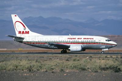 Royal Air Maroc-RAM Boeing 737-5B6 CN-RMY (msn 26525) OZZ (Jacques Guillem). Image: 946639.
