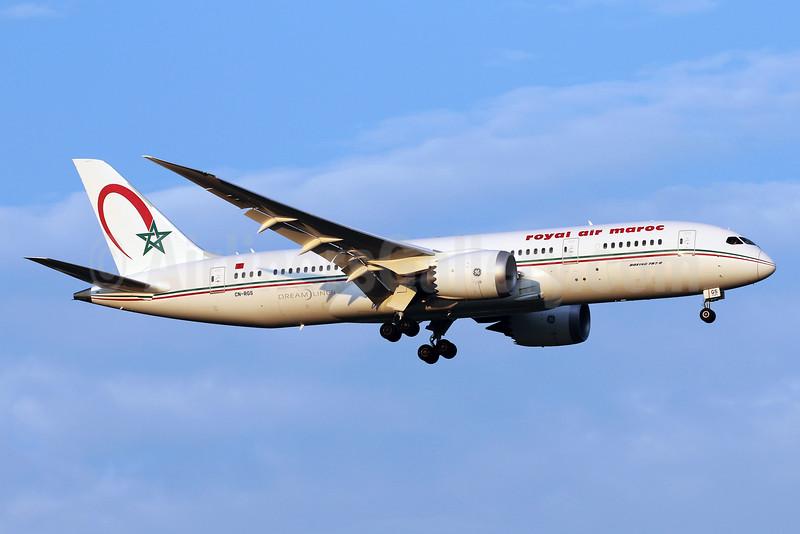 Royal Air Maroc Boeing 787-8 Dreamliner CN-RGS (msn 35506) IAD (Brian McDonough). Image: 934832.