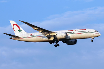 Royal Air Maroc Boeing 787-8 Dreamliner CN-RGS (msn 35506) IAD (Brian McDonough). Image: 934832.