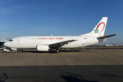 Royal Air Maroc Cargo Boeing 737-3M8F CN-ROX (msn 24020) BRU (Ton Jochems). Image: 934833.