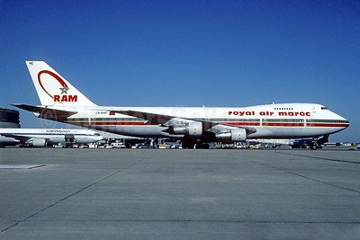 Royal Air Maroc-RAM Boeing 747-2B6B CN-RME (msn 21615) CDG (Christian Volpati). Image: 939132.