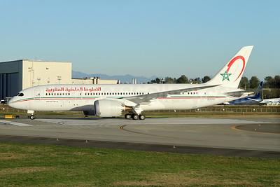 Royal Air Maroc Boeing 787-8 Dreamliner N10187 (msn 36109) PAE (Nick Dean). Image: 934974.