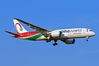 Royal Air Maroc Boeing 787-8 Dreamliner CN-RGB (msn 43817) (Oneworld) IAD (Brian McDonough). Image: 954421.