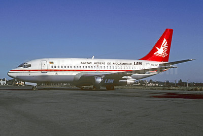 LAM-Linhas Aereas de Mocambique Boeing 737-2B1C C9-BAC (msn 20535) MPM (Jacques Guillem Collection). Image: 947343.
