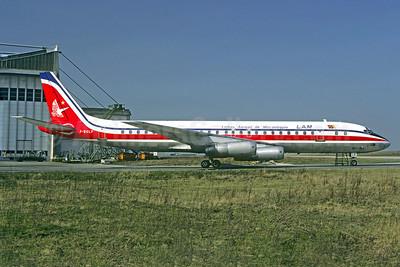 LAM-Linhas Aereas de Mocambique McDonnell Douglas DC-8-62 F-BOLF (msn 45918) ORY (Christian Volpati). Image: 910218.
