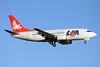 LAM-Linhas Aereas de Mocambique Boeing 737-53S C9-BAP (msn 29074) JNB (TMK Photography). Image: 920518.
