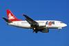 LAM-Linhas Aereas de Mocambique Boeing 737-53S C9-BAP (msn 29074) JNB (Christian Volpati). Image: 911554.