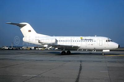 Air Namibia Fokker F.28 Mk. 3000 V5-KEA (msn 11151) JNB (Christian Volpati Collection). Image: 943911.