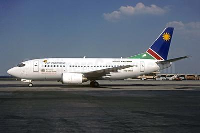 Air Namibia Boeing 737-528 V5-NDI (msn 25228) JNB (Christian Volpati Collection). Image: 943912.