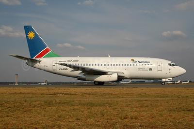 Air Namibia Boeing 737-236 V5-AND (msn 21790) JNB (Ton Jochems). Image: 954044.