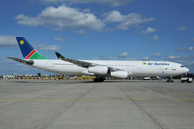 Air Namibia Airbus A340-311 V5-NME (msn 051) FRA (Bernhard Ross). Image: 913424.
