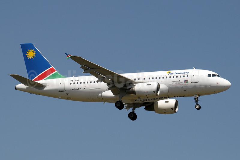 Air Namibia Airbus A319-112 V5-ANL (msn 3346) JNB (Paul Denton). Image: 910394.