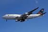 Air Namibia Boeing 747-48E V5-NMA (msn 28551) LHR (Jay Selman). Image: 400186.