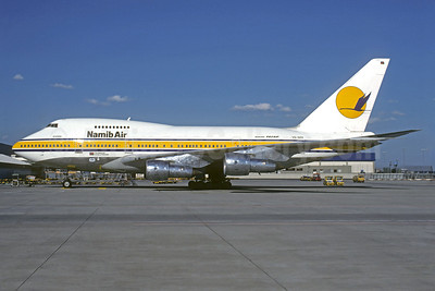 Namib Air Boeing 747SP-44 V5-SPF (msn 21263) FRA (Jacques Guillem Collection). Image: 932062.