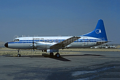 Namib Air Convair 580 ZS-KFA (msn 385) (Suidwes Lugdiens colors) WDH (Christian Volpati Collection). Image: 945575.