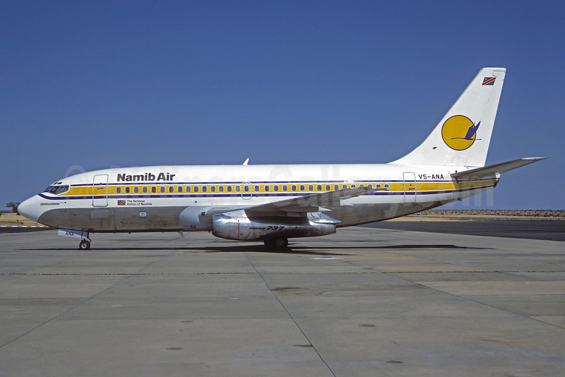 Namib Air Boeing 737-25A V5-ANA (msn 23790) WDH (Christian Volpati Collection). Image: 932060.