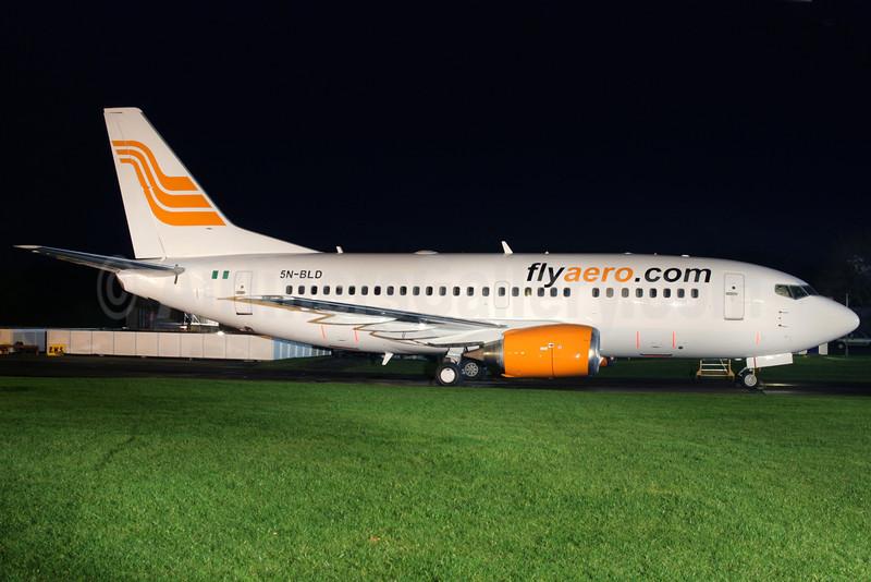 Flyaero.com (Aero Contractors) Boeing 737-522 5N-BLD (msn 26675) QLA (Antony J. Best). Image: 901491.