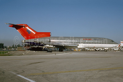 African Trans Air Boeing 727-22 N40485 (msn 18332) (Northwest colors) MIA (Bruce Drum). Image: 103562.