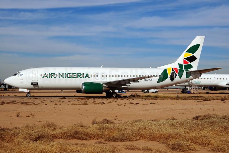 Air Nigeria Boeing 737-4Q8 N339LF (5N-VNM) (msn 25375) GYR (Ton Jochems). Image: 910558.