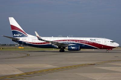 Arik Wings of Nigeria (Arik Air) Boeing 737-86N WL 5N-MJN (msn 35638) LHR (Antony J. Best). Image: 906930.
