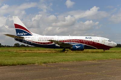 Arik Wings of Nigeria (Arik Air) Boeing 737-322 5N-MJA (msn 24360) NWI (Ton Jochems). Image: 924099.