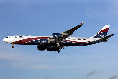 Arik Wings of Nigeria (Arik Air) Airbus A340-542 CS-TFW (msn 910) LHR (Antony J. Best). Image: 901815.