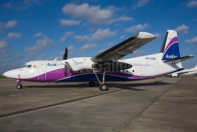 Arik Wings of Nigeria (Arik Air) Fokker F.27 Mk. 050 (Fokker 50) PH-KXM (msn 20252) MST (Ton Jochems). Image: 901353.
