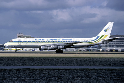 EAS Cargo Airlines-EAS (Nigeria) McDonnell Douglas DC-8F-55 Jet Trader 5N-ATS (msn 45817) AMS (Christian Volpati Collection). Image: 949199.