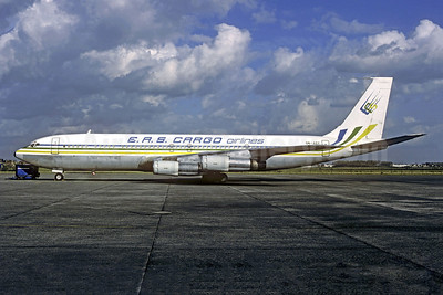 EAS Cargo Airlines-EAS (Nigeria) Boeing 707-351C 5N-ASY (msn 18922) OST (Christian Volpati Collection). Image: 949297.