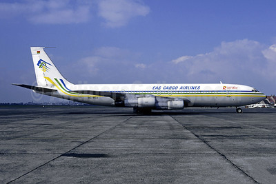 EAS Cargo Airlines-EAS (Nigeria) - Rainbow Cargo Airlines Boeing 707-351C 9G-RCA (9G-RBO) (msn 18746) OST (Christian Volpati Collection). Image: 949198.