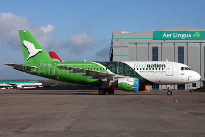 First Nation Airways Airbus A319-113 EI-DVU (5N-FNE) (msn 660) DUB (Greenwing). Image: 911349.