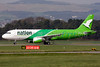 First Nation Airways Airbus A320-212 5N-FNB (msn 466) GLA (Fred Seggie). Image: 906270.