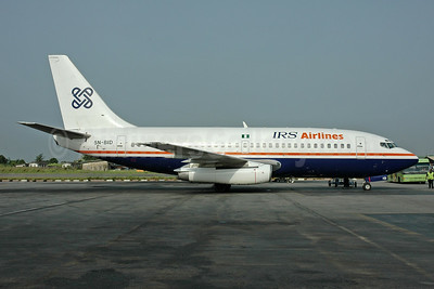 IRS Airlines Boeing 737-25A 5N-BID (msn 23791) LOS (Bruce Drum Collection). Image: 945609.