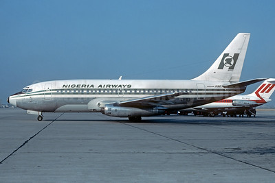 Nigeria Airways Boeing 737-275 EI-BJP (msn 19743) (Jacques Guillem Collection). Image: 936691.