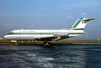 Leased from Fokker on February 13, 1975