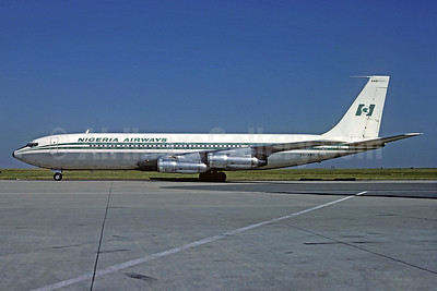 Nigeria Airways Boeing 707-3F9C 5N-ANO (msn 21428) CDG (Michel Gilliand). Image: 931044.