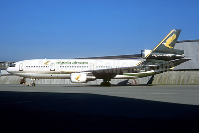 Nigeria Airways McDonnell Douglas DC-10-30 5N-ANN (msn 46957) AMS (Christian Volpati Collection). Image: 949601.