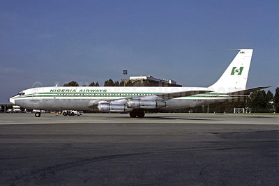 Nigeria Airways Boeing 707-3F9C 5N-ABK (msn 20669) CDG (Christian Volpati). Image: 909079.