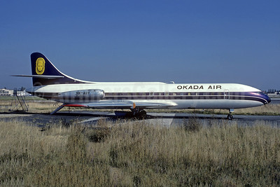 Okada Air Sud Aviation SE.210 Caravelle 6N 5N-AOY (msn 180) ORY (Jacques Guillem). Image: 949566.